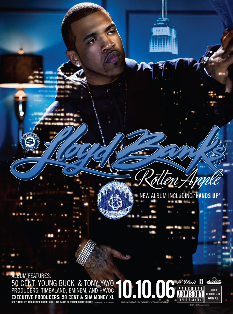 Lloyd Banks Rotten Apple Slang Inc